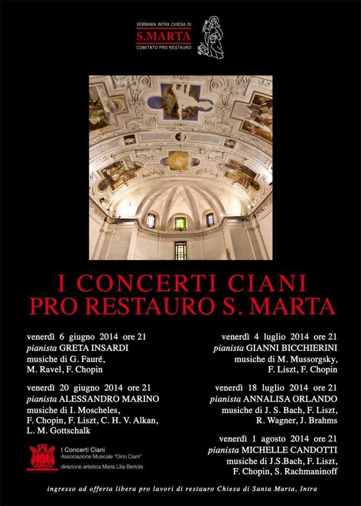 Manifesto stagione concertistica 2014